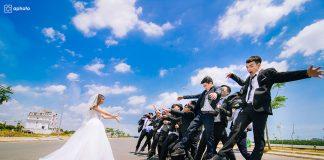 Album chụp ảnh kỷ yếu concept đám cưới đại học sư phạm kỹ thuật TPHCM